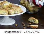 cantucci  a tipical tuscan... | Shutterstock . vector #247179742