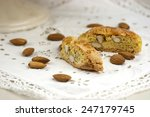 cantucci  a tipical tuscan... | Shutterstock . vector #247179745