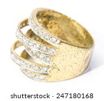 old diamond ring in white... | Shutterstock . vector #247180168