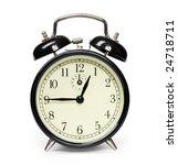 alarm clock isolated on white | Shutterstock . vector #24718711