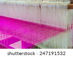 Weaving Loom And Shuttle On Th...