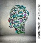 3d illustration  business... | Shutterstock . vector #247210342