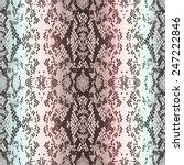 structure snakeskin | Shutterstock .eps vector #247222846