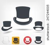 top hat | Shutterstock .eps vector #247244035