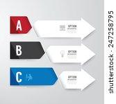 modern infographics design...   Shutterstock .eps vector #247258795