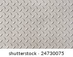 detail of diamond plate steel | Shutterstock . vector #24730075