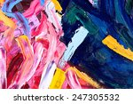 oil on canvas. fragment of my... | Shutterstock . vector #247305532
