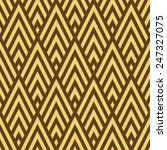 seamless brown and gold rhombic ...   Shutterstock . vector #247327075
