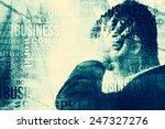 businessman abstract background | Shutterstock . vector #247327276