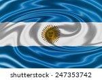 argentina waving flag   Shutterstock . vector #247353742