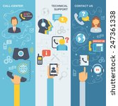 technical support call center... | Shutterstock .eps vector #247361338