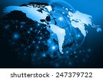 best internet concept of global ... | Shutterstock . vector #247379722