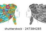 vector illustration of a... | Shutterstock .eps vector #247384285
