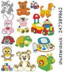 toys | Shutterstock .eps vector #247389862