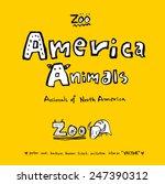 hand drawn animal illustration  ...   Shutterstock .eps vector #247390312