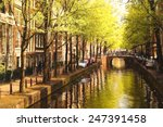 Amsterdam City In Holland ...