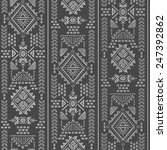 tribal vintage ethnic seamless...   Shutterstock . vector #247392862