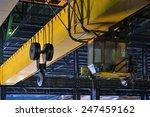 crane gantry in steel plant | Shutterstock . vector #247459162