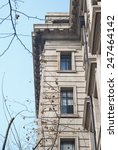 the 2 windows of a building | Shutterstock . vector #247464142