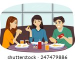 illustration of a group of... | Shutterstock .eps vector #247479886