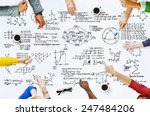 formula mathematics equation... | Shutterstock . vector #247484206