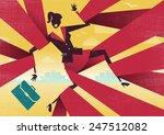 great illustration of retro... | Shutterstock .eps vector #247512082