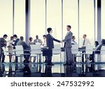business people conference... | Shutterstock . vector #247532992