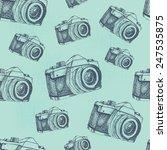 seamless pattern background... | Shutterstock .eps vector #247535875