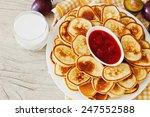freshly baked fritters  fruit... | Shutterstock . vector #247552588