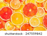 colorful citrus fruit   lemon ... | Shutterstock . vector #247559842