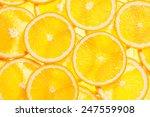 colorful orange citrus fruit... | Shutterstock . vector #247559908