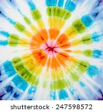 abstract tie dyed fabric... | Shutterstock . vector #247598572