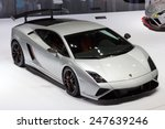 Постер, плакат: Lamborghini Gallardo Squadra Corse