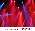 colorful concert stage lights | Shutterstock . vector #2476559