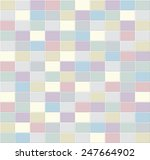 tiles in colors vector texture. | Shutterstock .eps vector #247664902
