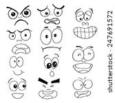 vector eye action style  | Shutterstock .eps vector #247691572