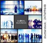 global business people... | Shutterstock . vector #247699648