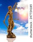 Sculpture Of Themis  Femida Or...