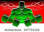 body building | Shutterstock .eps vector #247731226