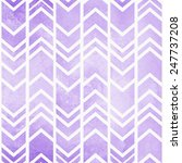 Seamless Tribal Ikat Watercolo...