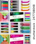 colorful modern text box... | Shutterstock .eps vector #247738048
