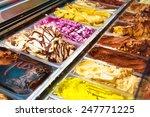Many Boxes Of Italian Ice Cream ...