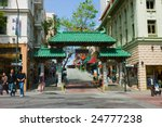 Gates To Chinatown In San...