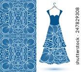 vector fashion illustration ...   Shutterstock .eps vector #247829308