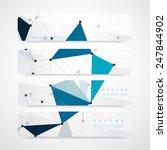 vector network background... | Shutterstock .eps vector #247844902