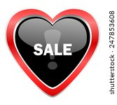 sale icon   | Shutterstock . vector #247853608