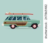 vector modern flat design round ... | Shutterstock .eps vector #247865482