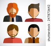 people design over white... | Shutterstock .eps vector #247873642