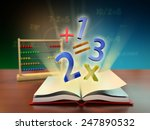 numbers and mathematical... | Shutterstock . vector #247890532
