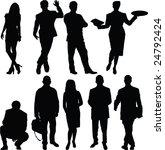 people  vector | Shutterstock .eps vector #24792424